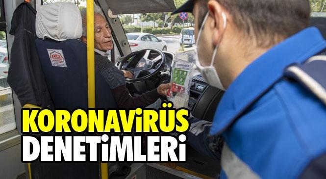 Mersin'de Şehir İçi Yolcu Taşımacılığı Yapan Araçlarda Yapılan Denetimlerde Yolcu Kapasitesinin Yüzde 50'sinden Fazla Yolcu Alanlara Cezai İşlem Uygulandı