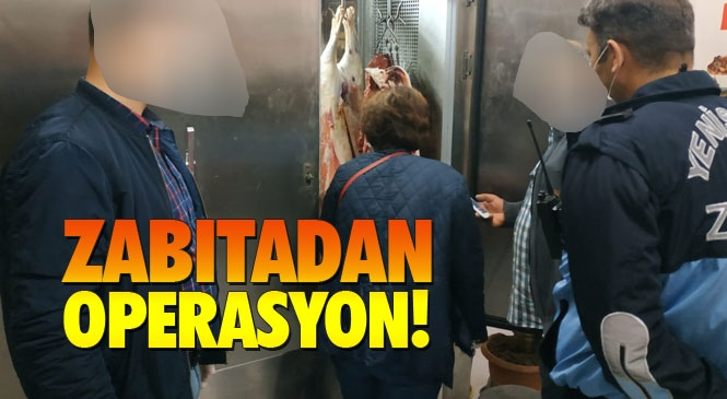 Mersin'de Kaçak Et Operasyonu! Yenişehir'de İş Yerine Kaçak Et Operasyonu Yapıldı: 200 Kilo Kaçak Et Yakalandı