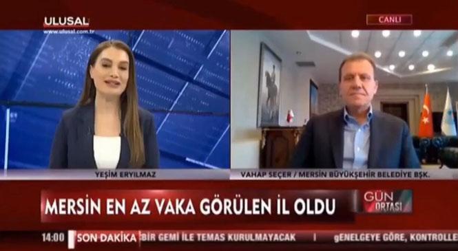 """Mersin Büyükşehir Belediye Başkanı Vahap Seçer: """"Yardımları Kendi İmkanlarımızla Yapıyoruz"""""""