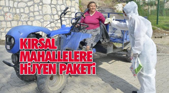 Yenişehir Belediyesi, Mersin Motosiklet Spor Kulübü üyeleri İle Kırsal Mahallelere Hijyen Paketi