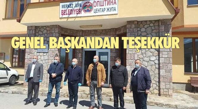 Makedonya / TDP Genel Başkanı Beycan İlyas Merkez Jupa Ziyaretinde, Yardım ve Diğer Desteklerinden Ötürü Türkiye'ye Teşekkür Etti