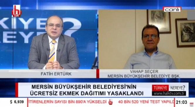 """Başkan Seçer: """"Bu Karar, Büyükşehir Belediyelerinin Ekmek Dağıtmasının Engellenmesi Anlamına Geliyor"""""""