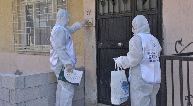Yenişehir'den Vatandaşlara Hijyen Paketi