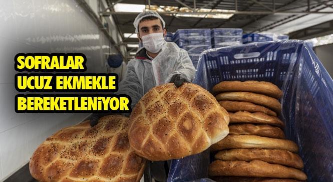 Ekmeğe 25 Kuruş İndirim Yapan Büyükşehir, Ramazan Pidesi Üretimine de Başladı! Mersin Büyükşehir Halk Ekmek'te Ramazan Boyunca Pide 1 TL, Somun Ekmek 50 Kuruş