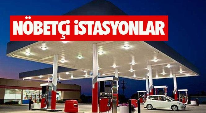 Mersin Nöbetçi İstasyonlar! Mersin'deki 4 Günlük Sokağa Çıkma Yasağında Nöbetçi Petrol İstasyonların Listesi!