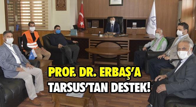 Linç Kampanyasına Maruz Kalan Diyanet İşleri Başkanı Ali Erbaş'a Tarsus'tan Destek