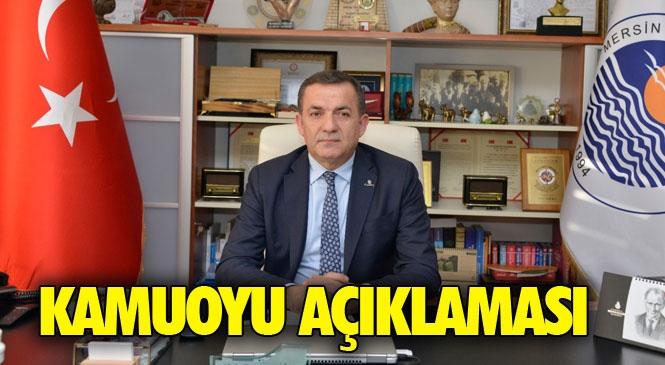"""Yenişehir Belediyesinden Basına ve Kamuoyuna Açıklama """"Ekmek Dağıtımına Devam Edeceğiz"""""""