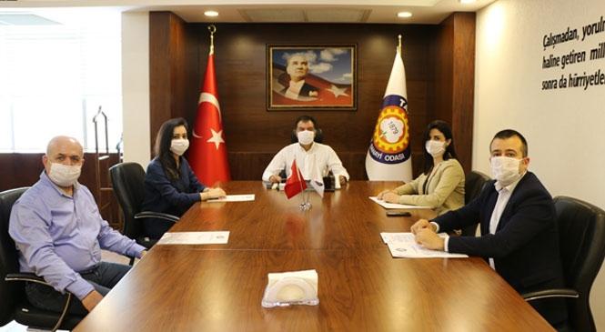 """Tarsus TSO'da """"Nefes Kredisi Tanıtım Toplantısı"""" Yapıldı"""