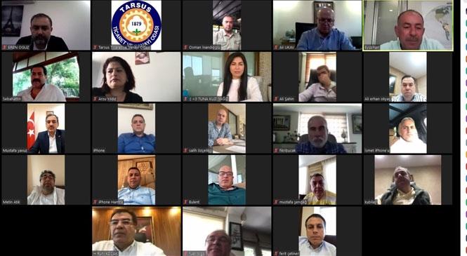 Tarsus TSO Meclis Toplantısı Yapıldı