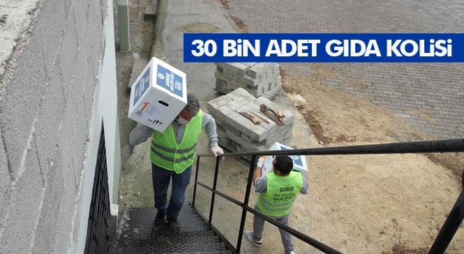 Akdeniz Belediyesi, Ramazan Kolilerini Vatandaşlara Ulaştırmaya Başladı