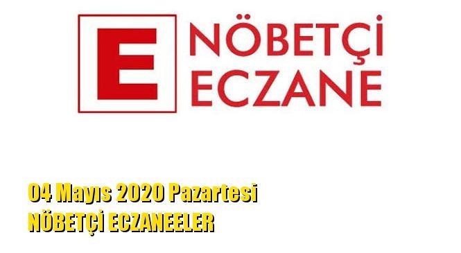 Mersin Nöbetçi Eczaneler 04 Mayıs 2020 Pazartesi