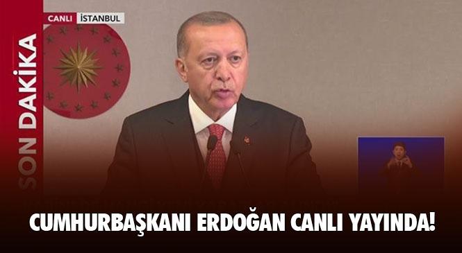 Cumhurbaşkanı Erdoğan, Cumhurbaşkanlığı Kabine Toplantısı'nın Ardından Basın Toplantısı