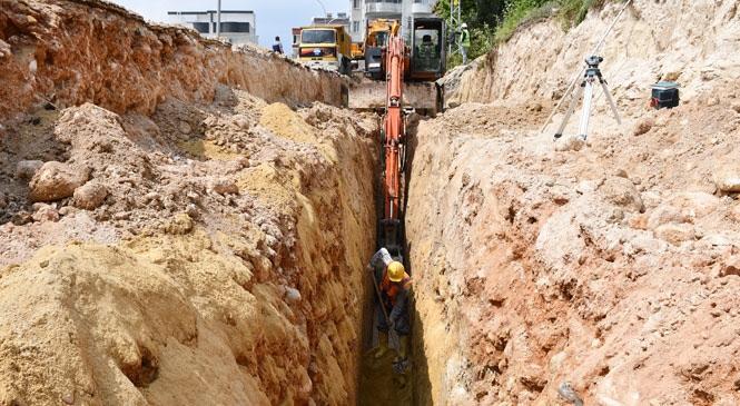 MESKİ, Arpaçsakarlar'ın Kanalizasyon Sorununun Çözümü İçin Çalışmalara Başladı