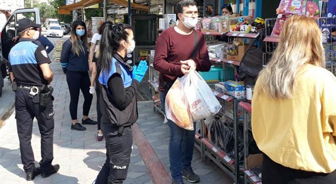 Mersin'de Polisten İş Yerlerine Kural Denetimi