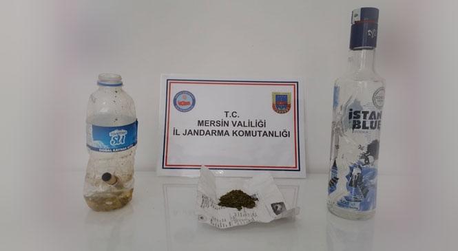 Mersin Anamur Ören Mahallesinde Park Halindeki Araçta Uyuşturucu Kullanan Şahıslar Yakalandı