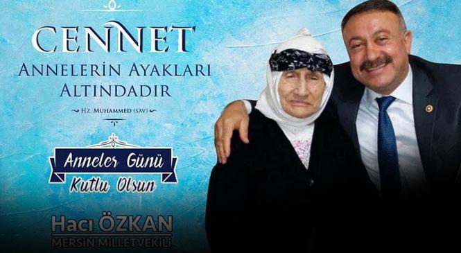 Milletvekili Özkan'dan Anneler Günü Mesajı