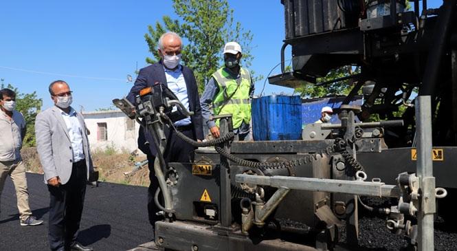 Akdeniz Belediyesi, Acil İhtiyaç Duyan Mahallelere Hizmet Götürüyor
