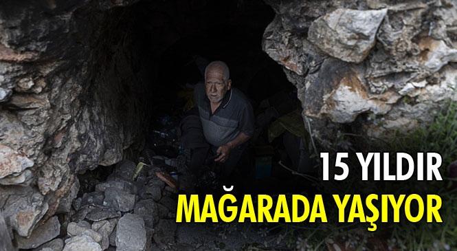 Mağarada Geçen Ömrünü Dört Duvara Tercih Eden Mersinli Zekai Amca'nın Şartları İyileştiriliyor