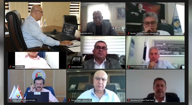 Üyelerin Talepleri TOBB Akdeniz Bölgesi İstişare Toplantısında İletildi