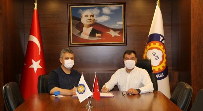 """Tarsus TSO'dan Üyeleri İçin """"Maske"""" Protokolü"""