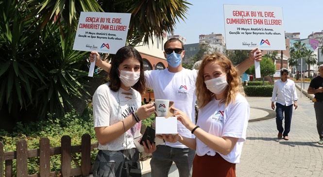 Mersin Büyükşehir, 40 Gün Sonra Sokağa Çıkan Çocukların Neşesine Ortak Oldu