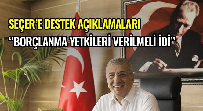 Mezitli Belediye Başkanı Neşet Tarhan, Hizmetlerin Gerçekleşebilmesi İçin Başkan Vahap Seçer'e Güvenilerek, Kendisine Moral Gücünü Vermemiz Gerekirdi