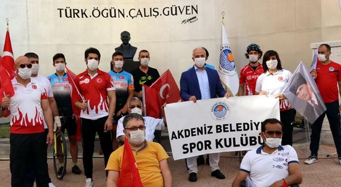 Akdeniz Belediyesi, Çamlıbel'e Yeni Bir Atatürk Büstü Kazandırdı! Restore Edilen Çamlıbel Atatürk Büstü'nün Açılışı, 19 Mayıs'ın Yıldönümünde Büyük Bir Coşkuyla Gerçekleştirildi