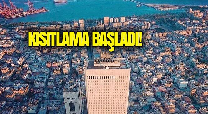 Mersin ve Adana'yı da Kapsayan 4 Günlük Sokağa Çıkma Yasağı Cumartesi 00.00 İtibariyle Başladı