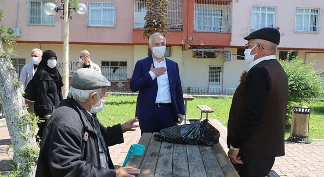 Akdeniz Belediye Başkanı Gültak, Ramazan Bayramı'nı Kutladı