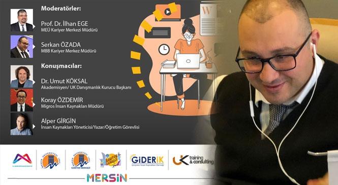 Kariyer Merkezi'nden Koronavirüs Sürecinde Online Kariyer Günü Etkinliği