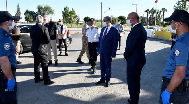 Mersin Valisi Ali İhsan Su, Güvenlik Güçleri İle Bayramlaştı