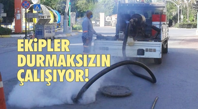 Mersin Büyükşehir Ekipleri Bayramda da Sinekle Mücadeleye Devam Etti! Tarsus'ta İlaçlama Çalışmaları Aralıksız Sürüyor