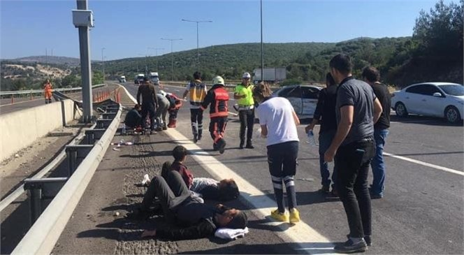 Pozantı - Tarsus Otoyolun Damlama Mevkinde Meydana Gelen Kazada 3 Yaşındaki Çocuk Hayatını Kaybetti