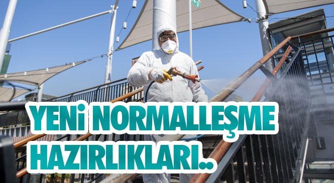 """Mersin'de Yeni Normalleşme Hazırlıkları! Başkan Seçer: """"Vaka Sayısının Az Olmasının Sebebi Ortaya Konan Emek. Bu Noktada Belediye Başkanı Olarak Mutluyum"""""""