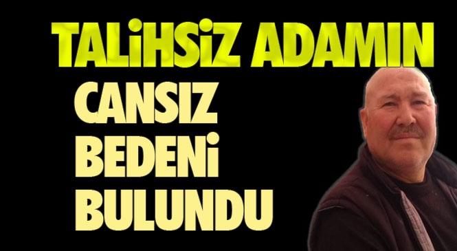 Mersin Bozyazı'da, Kaybolan Mustafa Güneş İsimli Vatandaşın Cansız Bedeni Bulundu