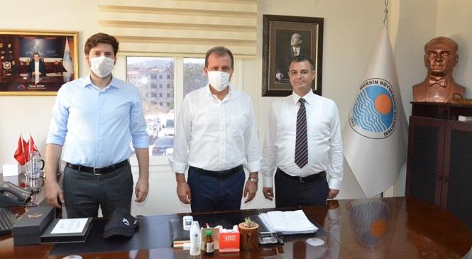 Başkan Vahap Seçer'den, Tarsus Koordinasyona Ziyaret