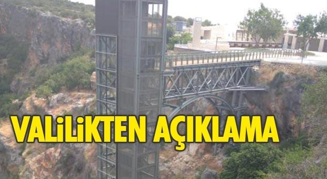 Mersin'deki Cennet – Cehennem Ören Yerine Dair Çıkan Haberlere İlişkin Valilikten Basın Açıklaması