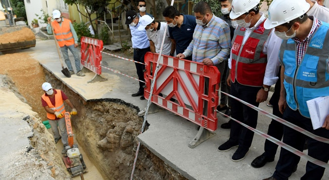 Kuyuluk'un Uzun Yıllardır Çözüm Bekleyen Kanalizasyon Sorunu Tarihe Karışıyor