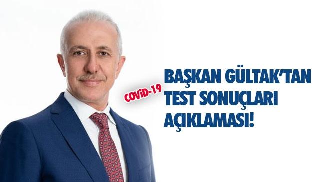 """Akdeniz Belediye Başkanı Gültak: """"7 Personelimizin Test Sonuçları Negatif Çıktı"""""""