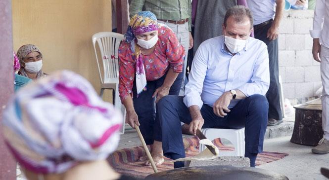 Kırsal Mahallelerin Grup Yollarında İyileştirme Çalışmaları Başlıyor! Anamur Rauf Denktaş Parkı İçin Seferberlik