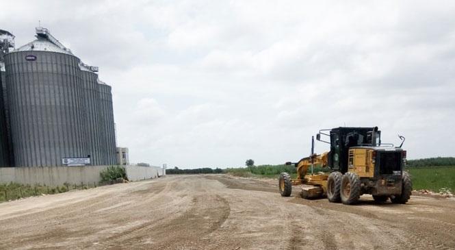 Ticaret Borsası Yerleşkesi Çevresinde Büyükşehir Yeni Yol Açma Çalışması Başlattı