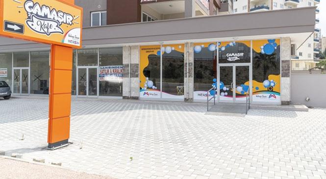 """""""Çamaşır Kafe"""" İle Öğrenciler Mersin'de Yılda 2 Bin 500 TL Tasarruf Sağlıyor"""