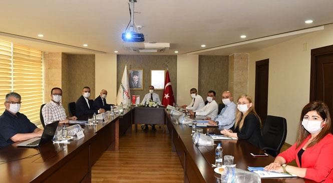 Vali Su, Teknopark Yönetim Kurulu Toplantısına Başkanlık Etti