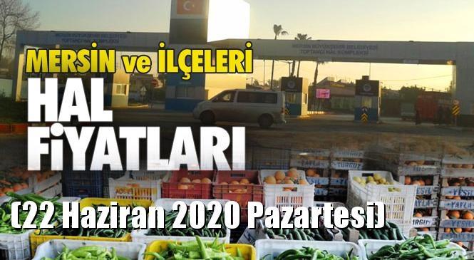 Mersin Hal Müdürlüğü Fiyat Listesi (22 Haziran 2020 Pazartesi)! Mersin Hal Yaş Sebze ve Meyve Hal Fiyatları