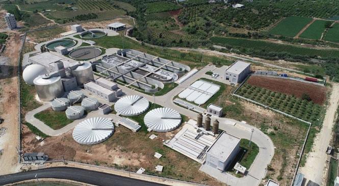 Atıksular Arıtılıyor, Akdeniz Temiz Kalıyor! Mezitli Atıksu Arıtma Tesisi Tam Kapasite Çalışmaya Devam Ediyor