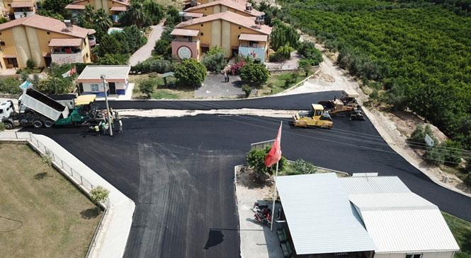 Esenbağlar'da 4 Bin 100 Metre Sathi Asfalt Kaplama, 1067 Ton Sıcak Asfalt Çalışması Yapıldı! Toplam 4 Bin 640 Metre Yol Asfaltlanarak, Vatandaşların Hizmetine Sunuldu