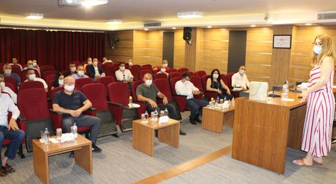 Tarsus TSO Üyelerine KVKK Eğitimi