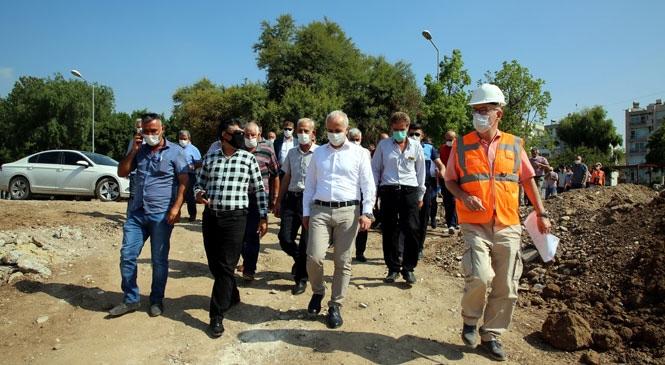 Akdeniz Belediye Başkanı Gültak; Mersin Millet Bahçesi'ni Muhtarlara Anlattı