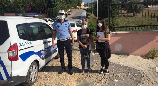 Mersin'de Öğrencilerin İmdadına Büyükşehir Zabıta Ekipleri Yetişti