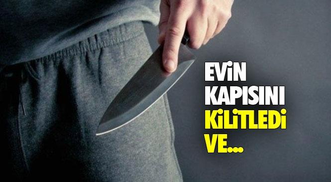 Mersin Tarsus'ta Komşusuna Bıçakla Saldırdı: 1 Ağır Yaralı